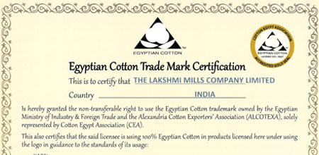 Egyptian Cotton manufacturers